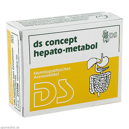 DS Concept hepato-metabol, 100 ST, Ds-Pharmagit GmbH