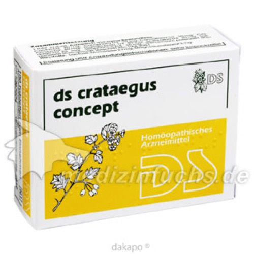 DS Crataegus Concept, 100 ST, Ds-Pharmagit GmbH