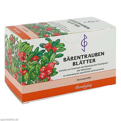 Bärentraubenblätter, 20X3 G, Bombastus-Werke AG