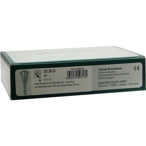 Kondome m. Schlauch 5330D, 30 ST, Manfred Sauer GmbH