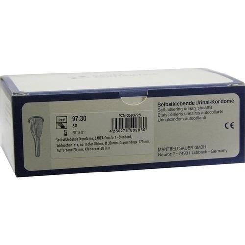Selbstklebendes Kondom Comfort 9730, 30 ST, Manfred Sauer GmbH