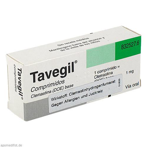 TAVEGIL Tabletten, 20 ST, mevita Handels GmbH