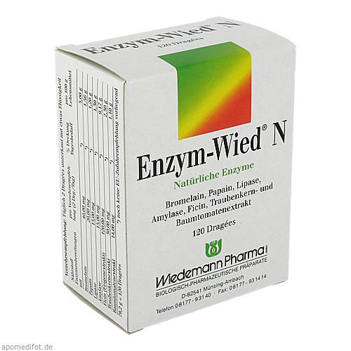 Enzym-Wied N, 120 ST, Wiedemann Pharma GmbH