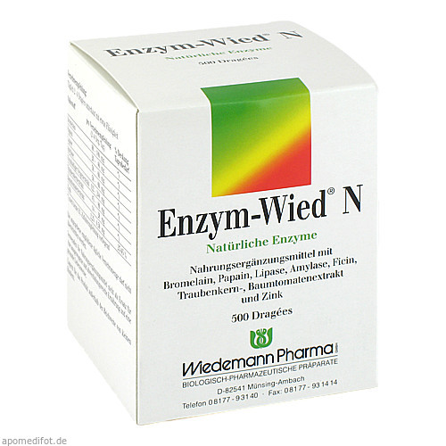 Enzym-Wied N, 500 ST, Wiedemann Pharma GmbH