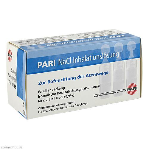 PARI NaCl Inhalationslösung Amp, 60X2.5 ML, Pari GmbH