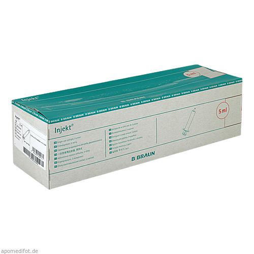 INJEKT Solo Spritze 5 ml LL zentrisch PVC-frei, 100X5 ML, B. Braun Melsungen AG