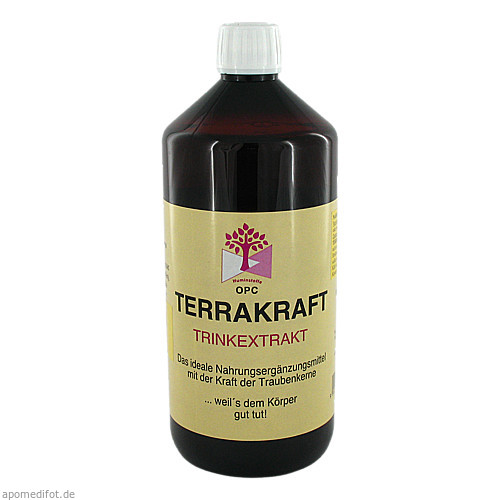 TERRAKRAFT EXTRAKT, 1000 ML, Hecht Pharma GmbH GB - Handelsware