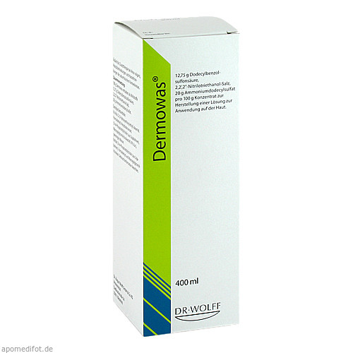 DERMOWAS, 400 ML, Dr. August Wolff GmbH & Co. KG Arzneimittel