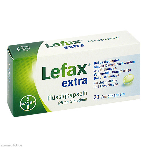 Lefax extra Flüssig Kapseln, 20 ST, Bayer Vital GmbH