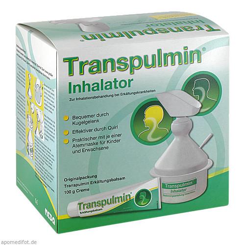 Transpulmin Erkältungsbalsam+Inhalator, 100 G, MEDA Pharma GmbH & Co.KG