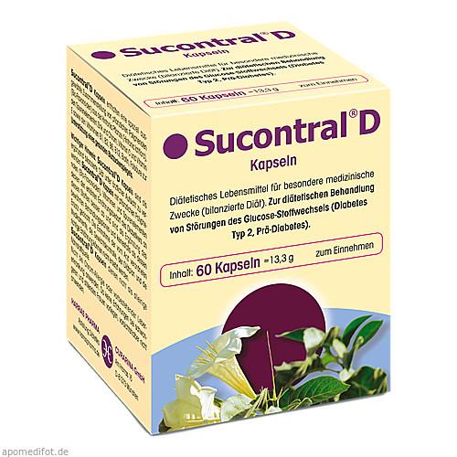 Sucontral D Diabetiker Kapseln, 60 ST, Harras-Pharma-Curarina GmbH