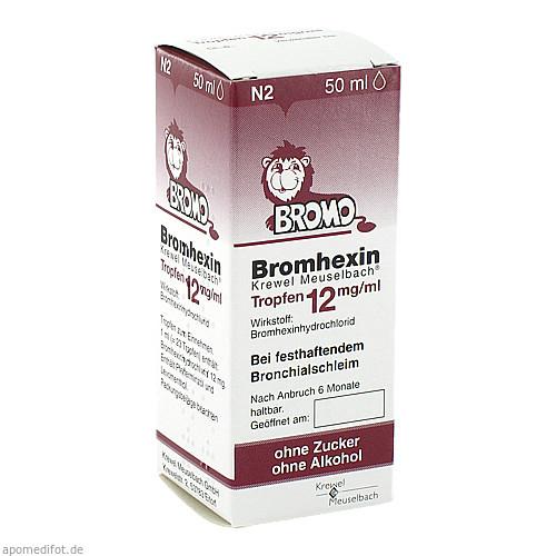Bromhexin K.Meuselb.Trf.12mg/ml, 50 ML, Krewel Meuselbach GmbH