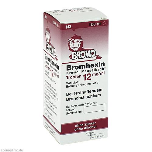 Bromhexin K.Meuselb.Trf.12mg/ml, 100 ML, Krewel Meuselbach GmbH