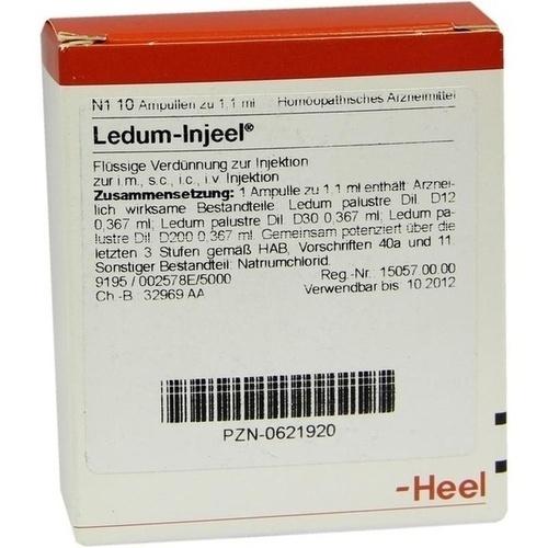 LEDUM INJ, 10 ST, Biologische Heilmittel Heel GmbH