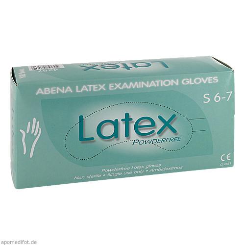 Latex-Handschuhe Small ungepudert 4387, 100 ST, Abena GmbH