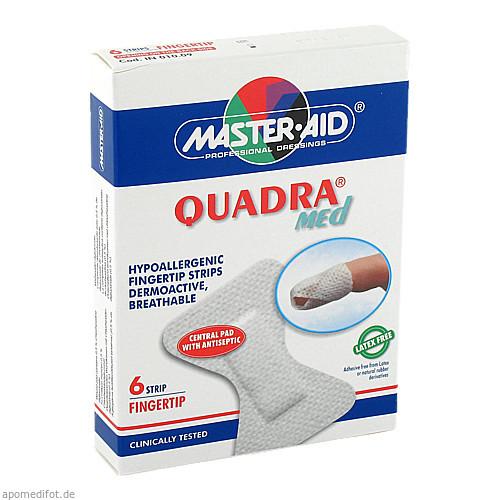 QUADRA MED Pflaster Fingerstrips Master Aid, 6 ST, Trusetal Verbandstoffwerk GmbH