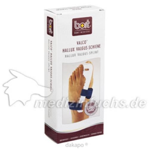 BORT Valco Hallux-Valgus Bandage rechts large, 1 ST, Bort GmbH