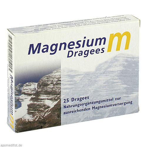 Magnesium m Dragees, 25 ST, Dr. Zinke Diätetika GmbH