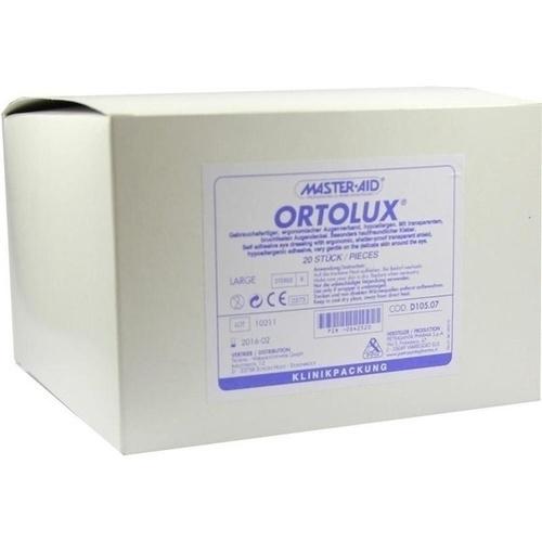 ORTOLUX Uhrglasverband large, 20 ST, Trusetal Verbandstoffwerk GmbH
