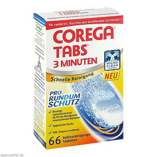 COREGA Tabs 3 Minuten, 66 ST, GlaxoSmithKline Consumer Healthcare