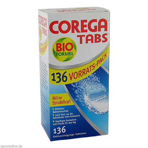COREGA Tabs Bioformel, 136 ST, GlaxoSmithKline Consumer Healthcare
