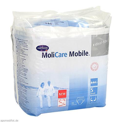 MOLICARE Mobile Inkontinenz Slip Gr.1 small, 14 ST, PAUL HARTMANN AG