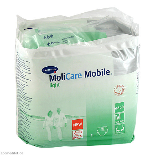 MOLICARE Mobile Light Inkontinenz Slip Gr.2 medium, 14 ST, PAUL HARTMANN AG