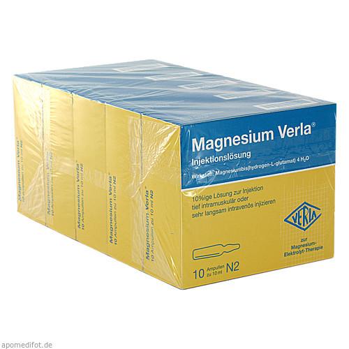 MAGNESIUM VERLA i.v./i.m., 50X10 ML, Verla-Pharm Arzneimittel GmbH & Co. KG
