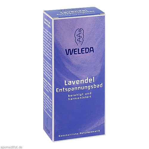 WELEDA Lavendel-Entspannungsbad, 200 ML, Weleda AG