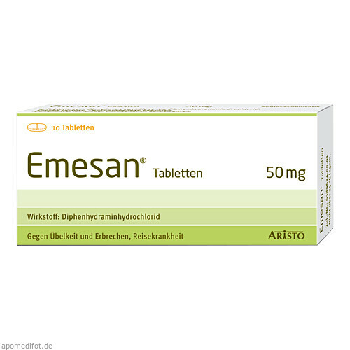 Emesan Tabletten, 10 ST, Aristo Pharma GmbH