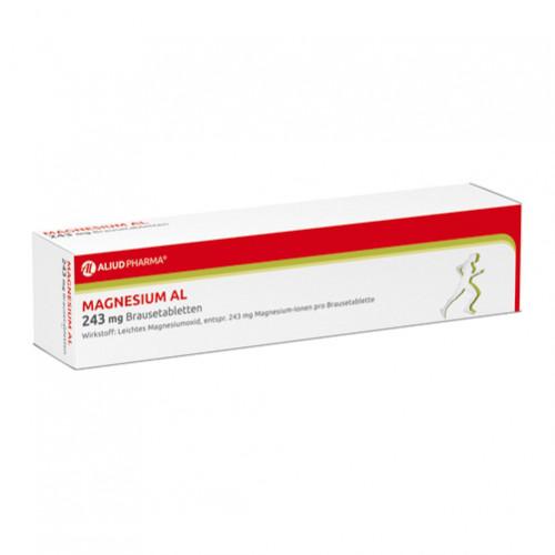 Magnesium AL 243mg Brausetabletten, 40 ST, Aliud Pharma GmbH
