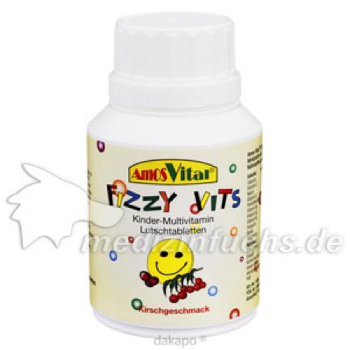 FIZZY VITS Kindervitamine AMOSVITAL, 50 ST, Amosvital GmbH