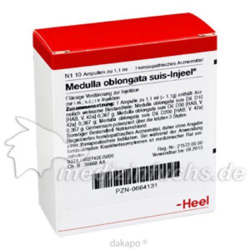 MEDULLA OBL SUIS INJ ORG, 10 ST, Biologische Heilmittel Heel GmbH
