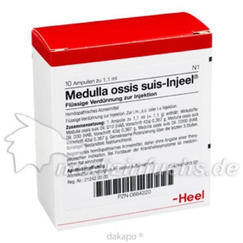 MEDULLA OSS SUIS INJ ORG, 10 ST, Biologische Heilmittel Heel GmbH