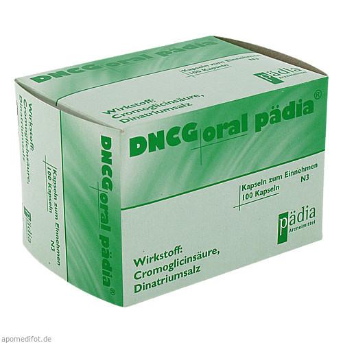 DNCG oral Pädia Hartkapseln, 100 ST, Pädia GmbH