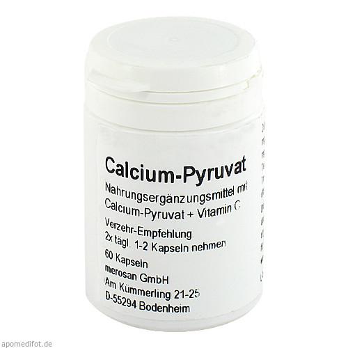 Calcium Pyruvat, 60 ST, merosan GmbH