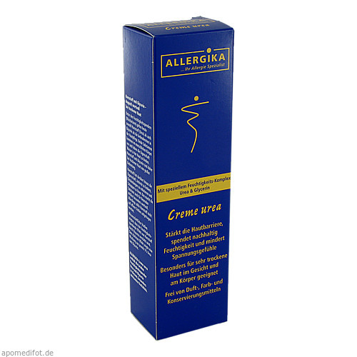 ALLERGIKA Creme Urea 5%, 100 ML, Allergika Pharma GmbH