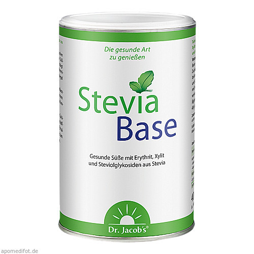 SteviaBase Dr. Jacob's, 400 G, Dr.Jacobs Medical GmbH