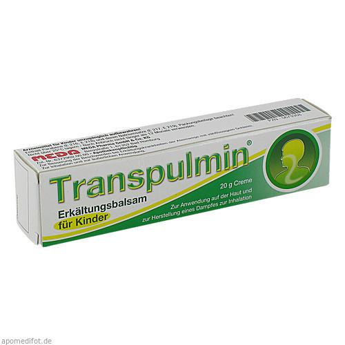 Transpulmin Erkältungsbalsam für Kinder, 20 G, Meda Pharma GmbH & Co. KG
