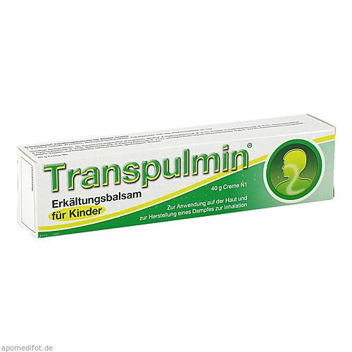 Transpulmin Erkältungsbalsam für Kinder, 40 G, MEDA Pharma GmbH & Co.KG