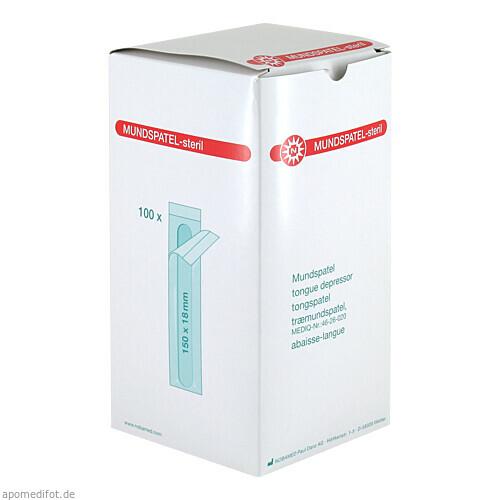 Mundspatel steril, 100 ST, Nobamed Paul Danz AG