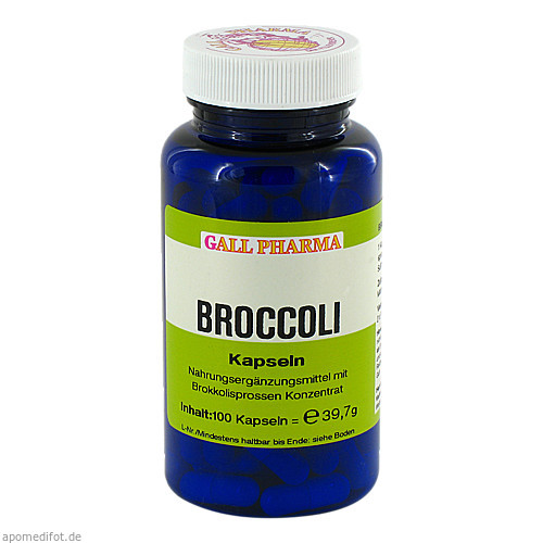 Broccoli Kapseln, 100 ST, Hecht-Pharma GmbH