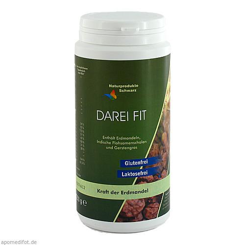 DAREI-FIT mit Erdmandel für Magen Darm u.Verdauung, 250 G, Naturprodukte Schwarz