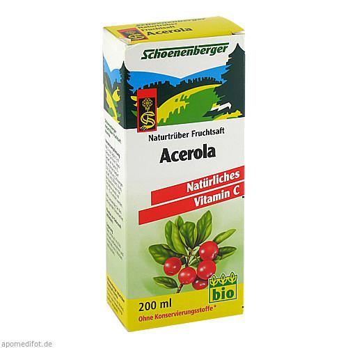 ACEROLASAFT SCHOENENBERGER, 200 ML, Salus Pharma GmbH