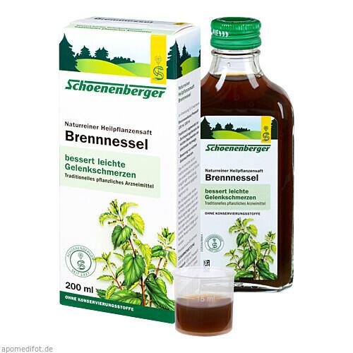 BRENNNESSELSAFT SCHOENENBERGER, 200 ML, Salus Pharma GmbH