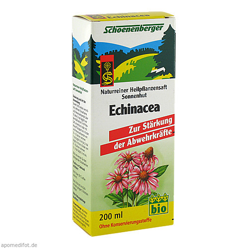 ECHINACEASAFT (SONNENHUT) SCHOENENBERGER, 200 ML, Salus Pharma GmbH