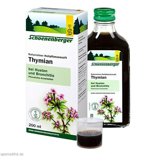 THYMIAN SAFT Schoenenberger, 200 ML, SALUS Pharma GmbH