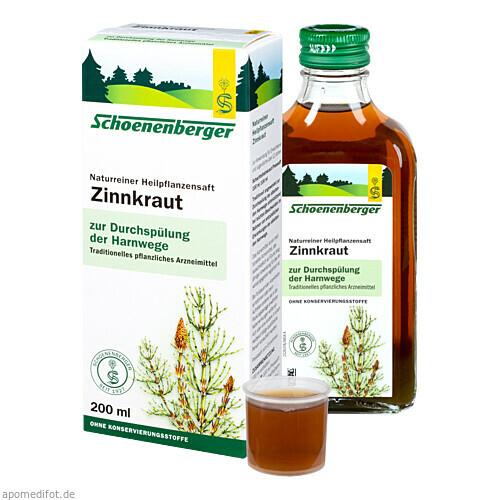 ZINNKRAUTSAFT SCHOENENBERGER, 200 ML, Salus Pharma GmbH