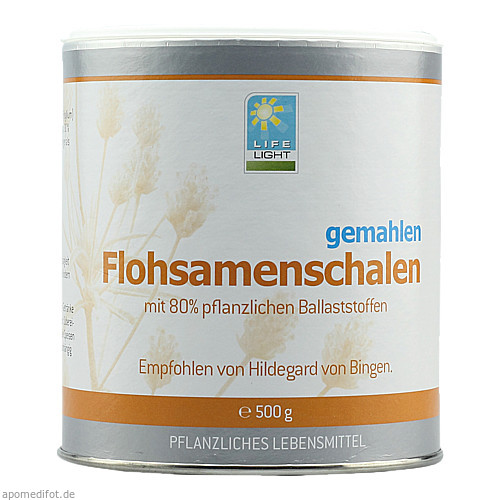 FLOHSAMENSCHALEN GEMAHLEN 500g, 500 G, Apozen Vertriebs GmbH
