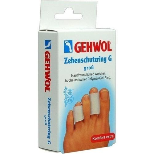 GEHWOL Polymer-Gel Zehenschutzring G groß, 2 ST, Eduard Gerlach GmbH